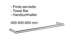 Porte-serviette 400-500-600 mm.: finition chrome cub-tres