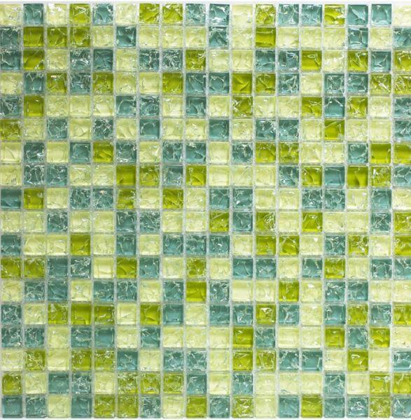 Mosa ques marbre galets et frises mosa ques cra028 for Carrelage vert salle de bain