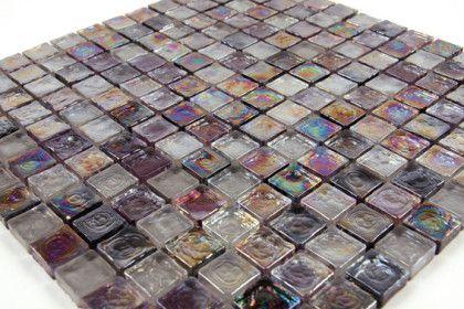 Paves briques de verres mosa ques et galets panache for Carrelage sol paillete