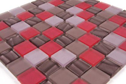 paves briques de verres mosa ques et galets verre satin rose allemagne mosaique de verre. Black Bedroom Furniture Sets. Home Design Ideas
