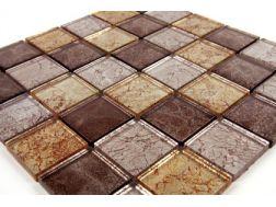 Carrelage mosa ques d coratives de salle de bain - Mosaique doree ...
