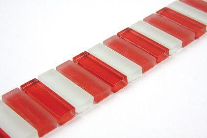BATONS ROUGE - Frise ou listel mosaïque, carrelage de verre ...