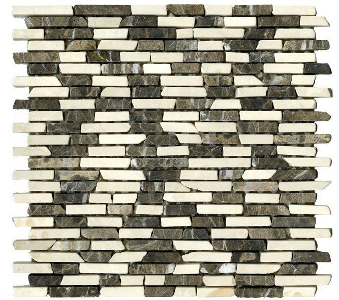 Paves briques de verres mosa ques et galets p006 piedra for Deco salle de bain trackid sp 006