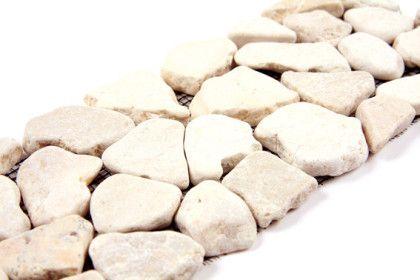 Paves briques de verres mosa ques et galets palladania for Carrelage simple ou double encollage
