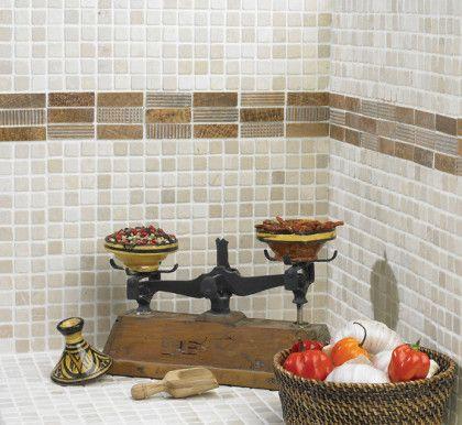 Mosa ques marbre galets et frises frises bluetooth for Frise mosaique salle de bain