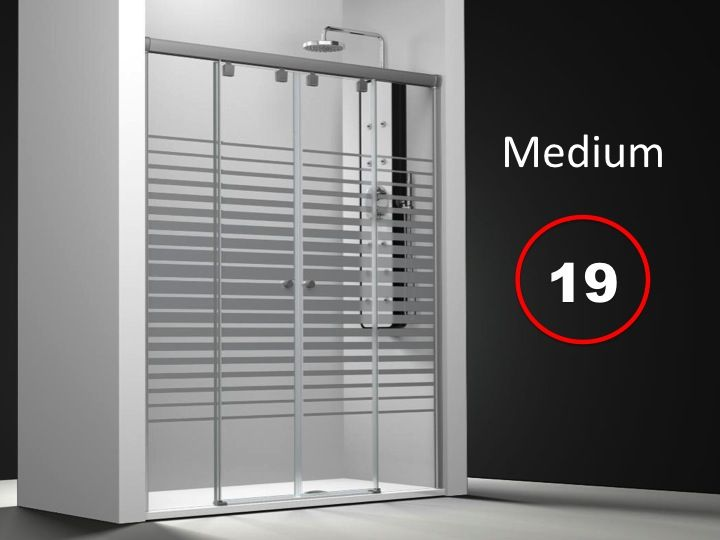 parois de douche largeur 160 paroi de douche 4 panneaux 2 portes centrales coulissantes 160. Black Bedroom Furniture Sets. Home Design Ideas