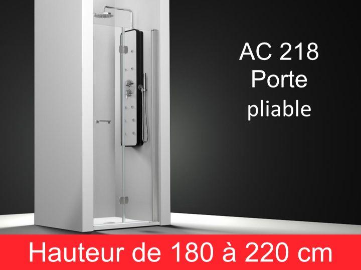Parois de douche largeur 75 porte de douche 75 cm 2 for Porte de douche hauteur 180