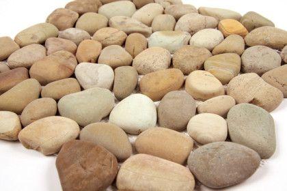 Paves briques de verres mosa ques et galets galets for Plaque de galet exterieur