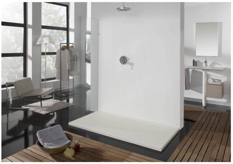 Tablette verre salle de bain 120 cm for Tablette salle de bain