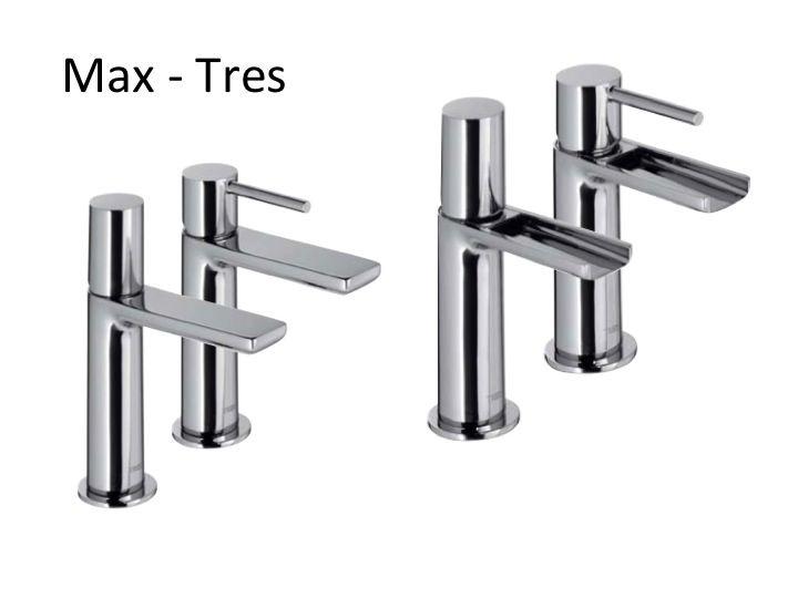 Meubles lave mains robinetteries lavabo robinetterie robinet mitigeur lavabo et cascade - Robinet salle de bain cascade ...