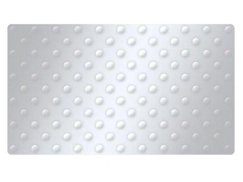 Meubles lave mains robinetteries pmr accessoires plaque podo tactile autocollante en inox for Plaque inox autocollante