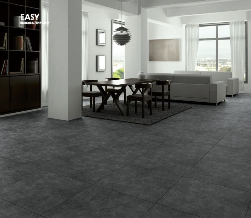 Carrelages mosa ques et galets terrasse easy gris 56 for Carrelage sejour
