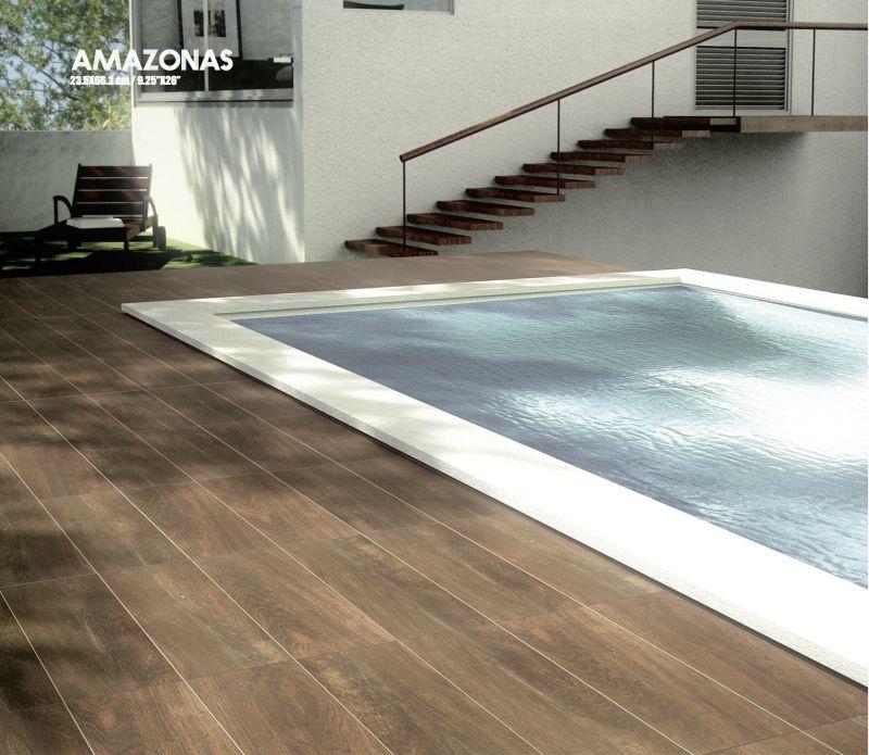 carrelage sol salle de bain cuisine et terrasse parquet amazonas caoba 23 5x66 2 cm. Black Bedroom Furniture Sets. Home Design Ideas