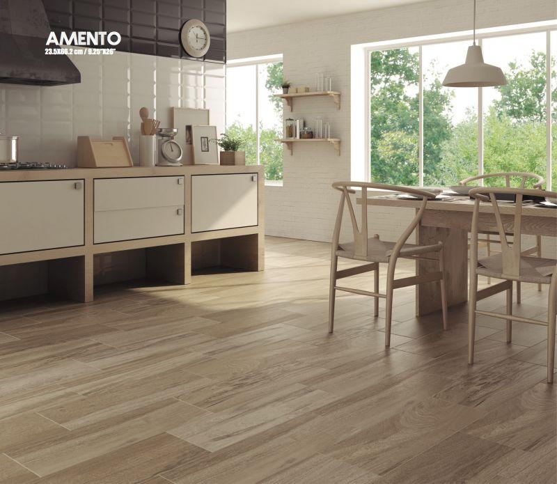 Carrelage sol salle de bain cuisine et terrasse parquet - Salon avec carrelage imitation parquet ...