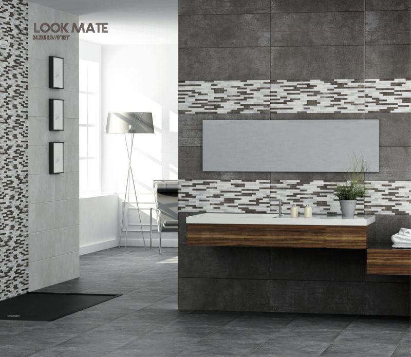 Carrelage sol salle de bain cuisine et terrasse mural - Frise murale carrelage salle de bain ...