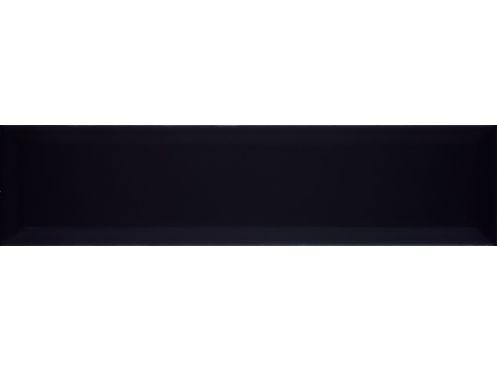 Carrelage sol et mur metro tube negro brillo cm for Listel carrelage metro