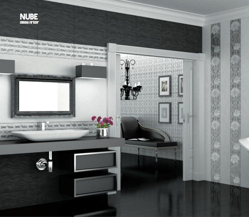 carrelage sol salle de bain cuisine et terrasse d cors mural nube largeur 50 cm listel et. Black Bedroom Furniture Sets. Home Design Ideas