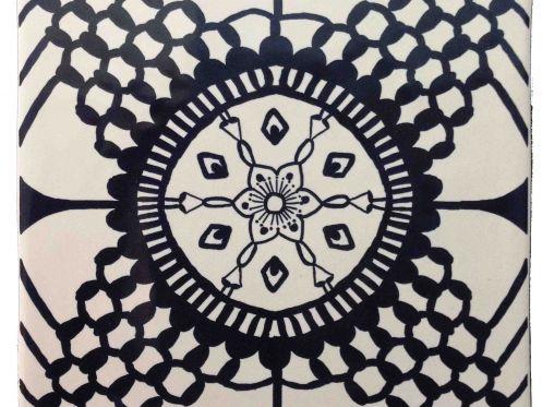 Carrelage sol et mur Mural - Inca negro manises Brillo 13X13 cm ...
