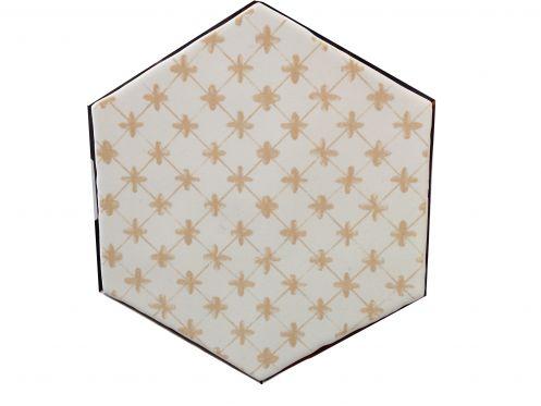 carrelages mosa ques et galets cuisine mural hexagon marrakech arena mosaico 15x15 cm. Black Bedroom Furniture Sets. Home Design Ideas