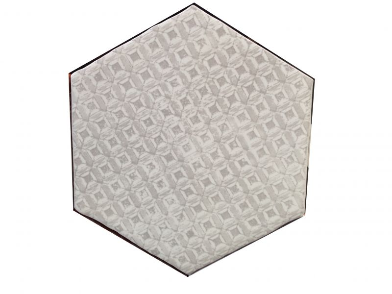 Carrelages mosa ques et galets cuisine mural hexagon for Carrelage classe 4