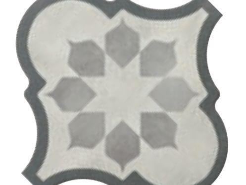 Carrelage sol et mur c ciment imitation lyon blume - Gres cerame imitation carreau de ciment ...
