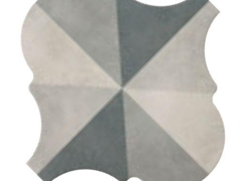 Carrelage sol et mur c ciment imitation lyon mond grey - Gres cerame imitation carreaux de ciment ...