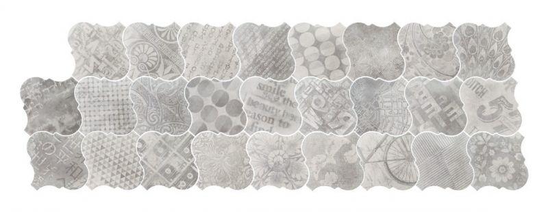 Carrelage sol et mur c ciment imitation lyon avenue - Gres cerame imitation carreaux de ciment ...
