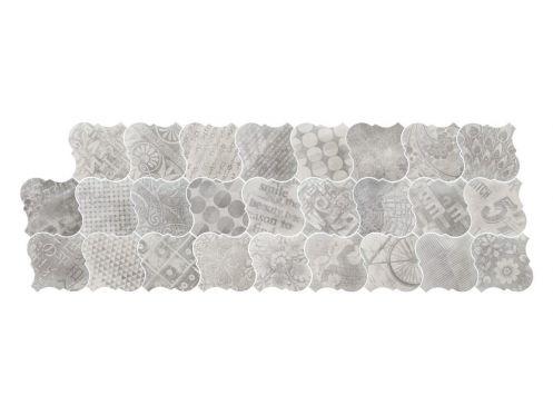 Carrelage sol et mur c ciment imitation lyon avenue - Gres cerame imitation carreaux ciment ...