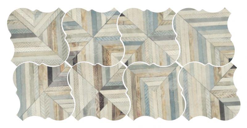 Carrelage sol et mur c ciment imitation lyon euphoria - Gres cerame imitation carreaux ciment ...