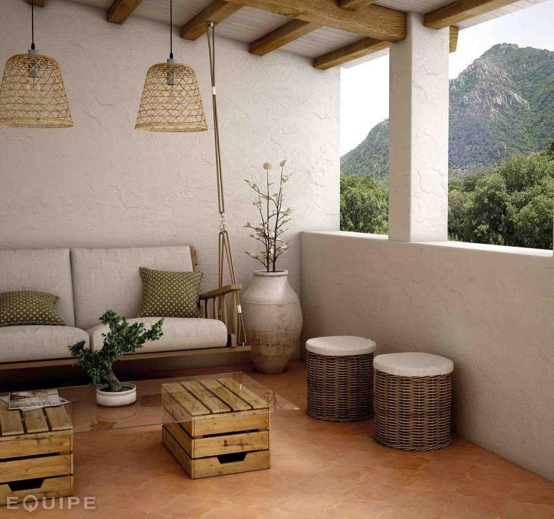carrelage sol salle de bain cuisine et terrasse terre cuite imitation cotto clay 26 5x26 5. Black Bedroom Furniture Sets. Home Design Ideas