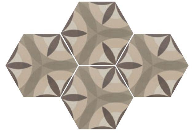 carrelages mosa ques et galets aspect cx ciment art deco 7 octogonal cream 17 5x20. Black Bedroom Furniture Sets. Home Design Ideas