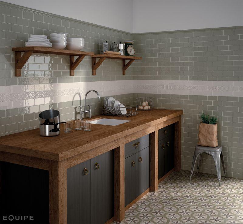 Carrelage Sol Et Mur C Ciment Imitation Art Deco 7 Octogonal Cream 17 5x20 Carrelage
