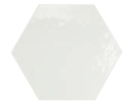 carrelage sol et mur hexagonale sol 17 5x20 blanco. Black Bedroom Furniture Sets. Home Design Ideas