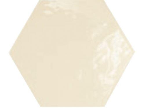 carrelages mosa ques et galets cuisine mural 17 5x20 crema brillo hexagonal carrelage de. Black Bedroom Furniture Sets. Home Design Ideas