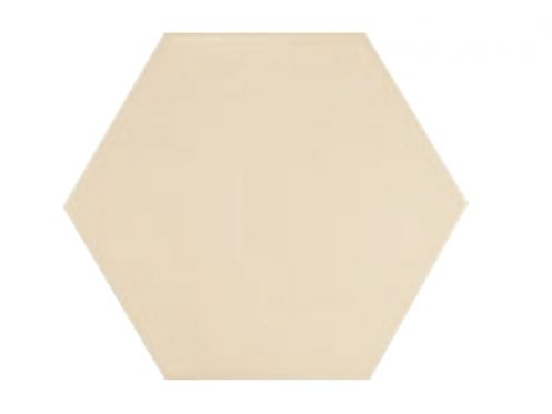 Carrelage sol et mur c ciment imitation hexagonal crema - Gres cerame imitation carreaux ciment ...
