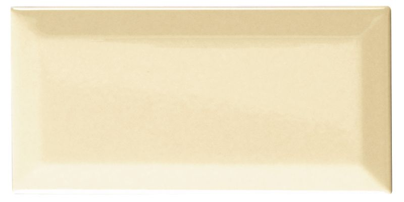 Carrelages mosa ques et galets metro metro cream brillo for Carrelage 10x10 blanc mat