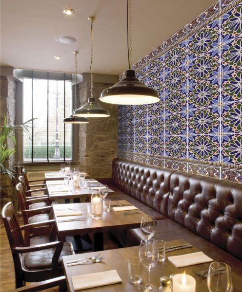 Carrelages mosa ques et galets oriental alhambra cenefa for Carrelage zellige cuisine