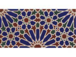 Carrelage Faïence Au Style Oriental Mauresque Zellige Ou Andalous - Carrelage i colori