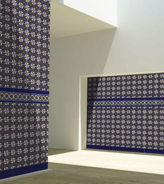 Carrelage sol et mur oriental falak base 14x28 cm for Carrelage oriental