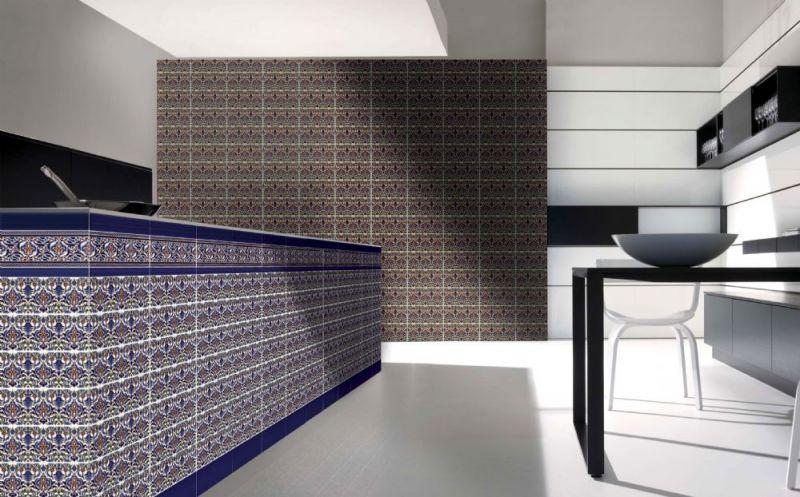 Carrelages Mosaiques Et Galets Oriental Hoor Marron Base 14x28 Cm
