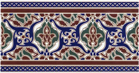 Carrelages mosa ques et galets oriental hoor marron for Carrelage oriental