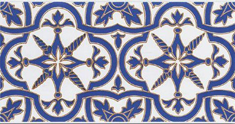 Carrelages mosa ques et galets oriental triana azul for Carrelage oriental