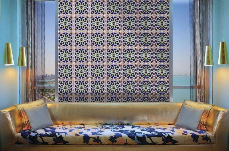 Carrelages Mosaiques Et Galets Oriental Zaki Base 14x28 Cm