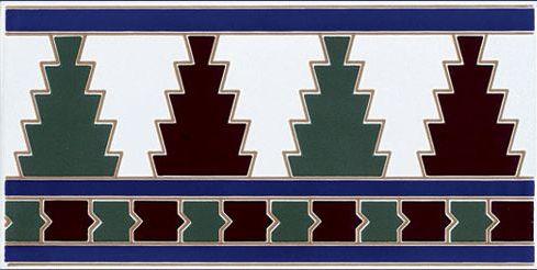 carrelages mosa ques et galets oriental alcudia cenefa 14x28 cm carrelage fa ence au style. Black Bedroom Furniture Sets. Home Design Ideas