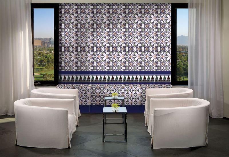 Carrelages Mosaiques Et Galets Oriental Alcudia Base 14x28 Cm