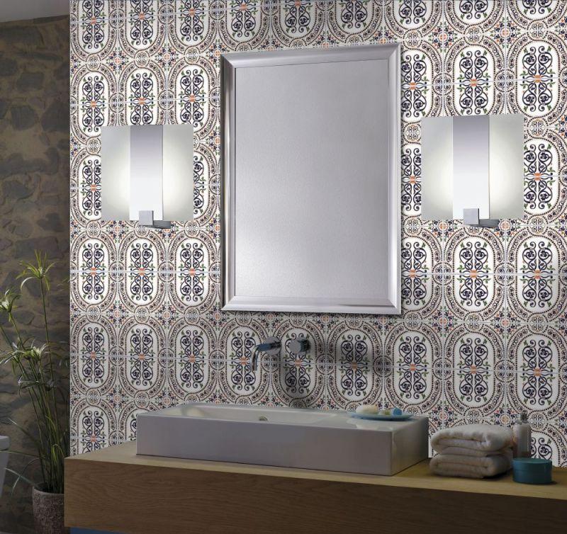 mosaique marocaine salle de bain finest ruban led salle de bain photographs with mosaique. Black Bedroom Furniture Sets. Home Design Ideas