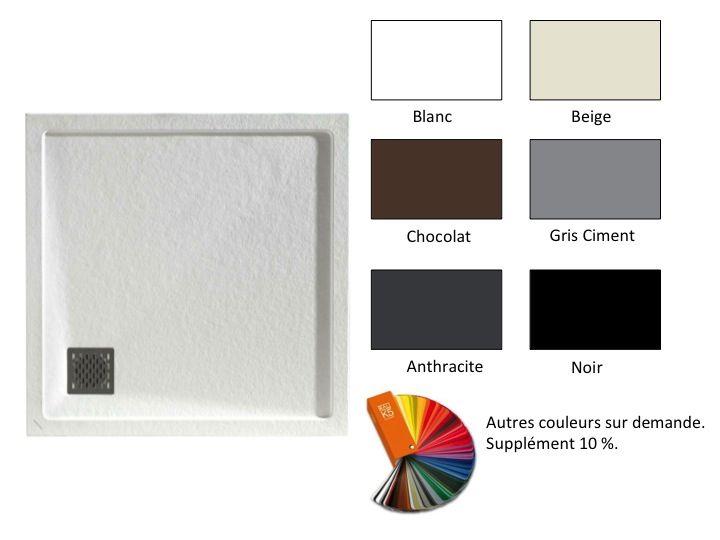 receveur de douche carr vacuation en angle square q4. Black Bedroom Furniture Sets. Home Design Ideas