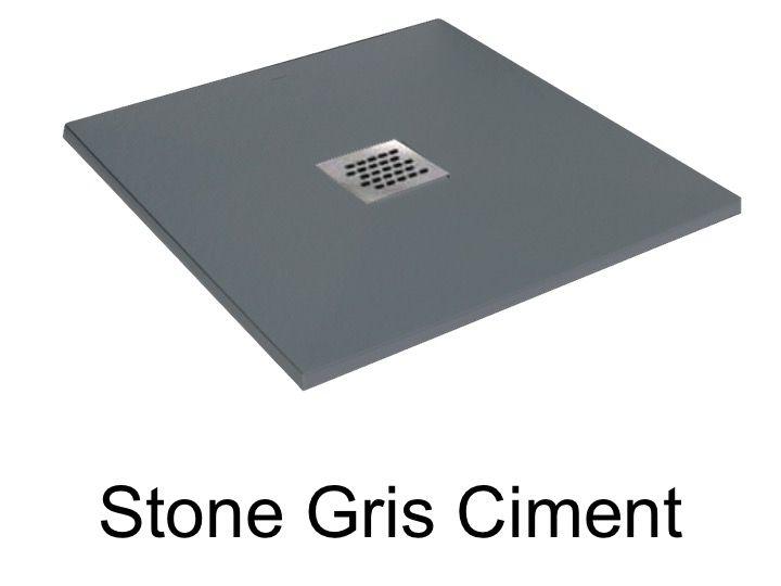 receveurs de douches longueur 75 receveur de douche 75 cm en r sine petit taille extra plat. Black Bedroom Furniture Sets. Home Design Ideas
