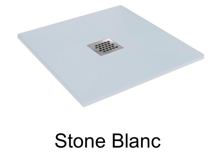 receveurs de douches longueur 80 receveur de douche 80 cm en r sine petit taille extra plat. Black Bedroom Furniture Sets. Home Design Ideas