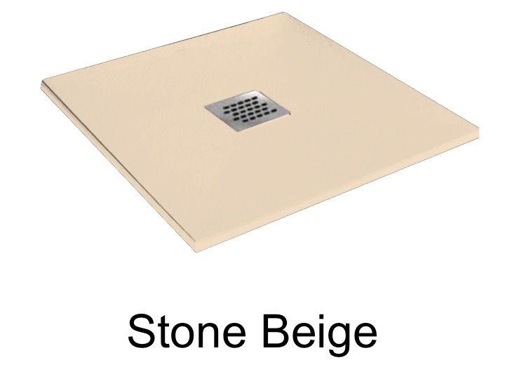 Receveurs de douches longueur 85 receveur de douche 85 cm en r sine petit taille extra plat - Receveur graniet ...